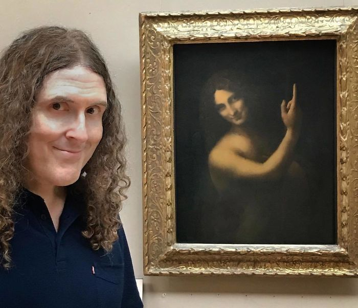 Weird Al Proves He Is Immortal At The Louvre
