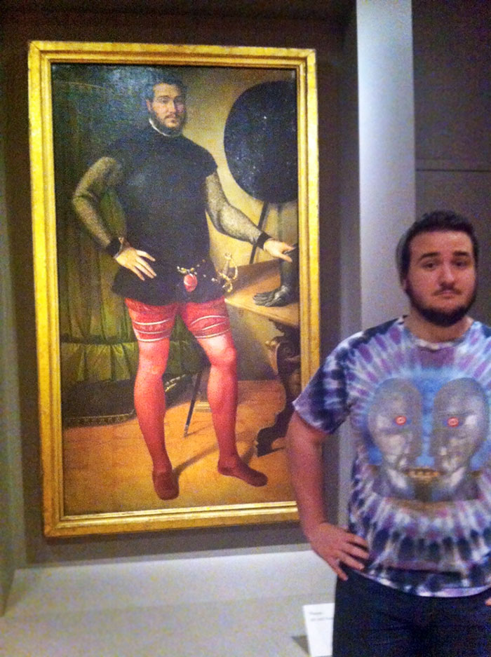 Made An Interesting Discovery At The Art Museum Today