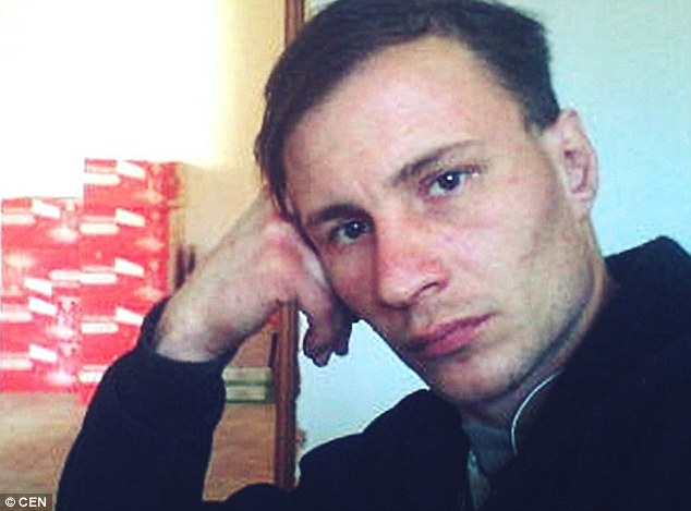 Baksheeva, 42, and husband Dmitry Baksheev (pictured) were arrested in October 2017 as the main suspects for the murder of a woman in Russia