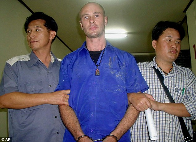 An ex-yoga teacher (pictured, centre) from the Gold Coast has pleaded guilty to a string of child sex offences, but blamed his actions on an earlier motorbike accident