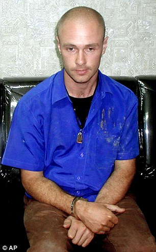 Mizner (pictured) allegedly committed the offences on a three-year-old in the Gold Coast between 2003 and 2005