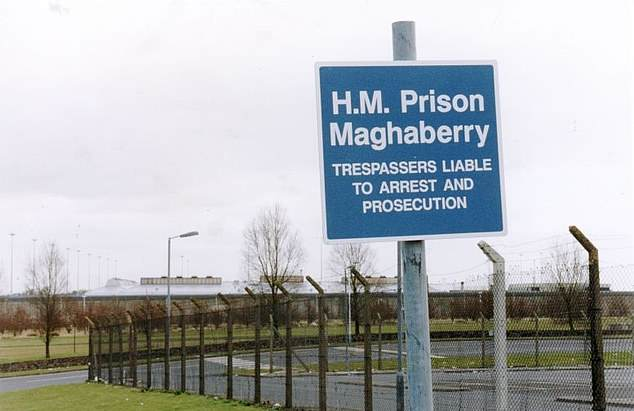 Inmates at HMP Maghaberry in Northern Ireland such as murderers are being kept away from the