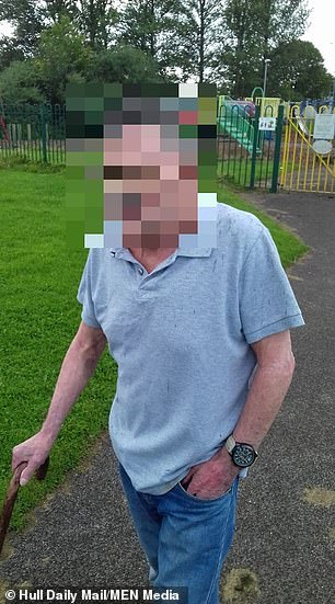 John Potts pulled a young girl from her bicycle and pinned her to the ground in a park between Bransholme and Sutton near Hull