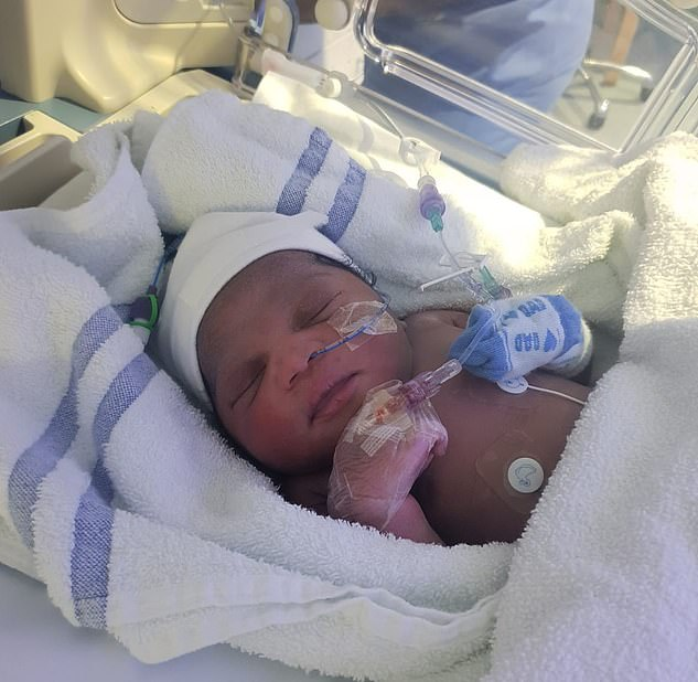 This newborn baby girl was found in a bag, wrapped in a towel, in a park in London last night, on what was one of the coldest nights of the winter