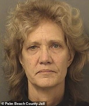 Amy Elizabeth Fleming (pictured), 60, has been charged with the murder of her young son, Francillon Pierre