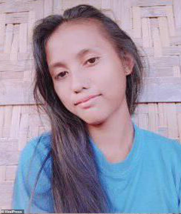 Christine Silawan, 17, was found dead this morning in a vacant field in Barangay Bangkal, Philippines